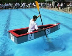 How to build a cardboard boat race