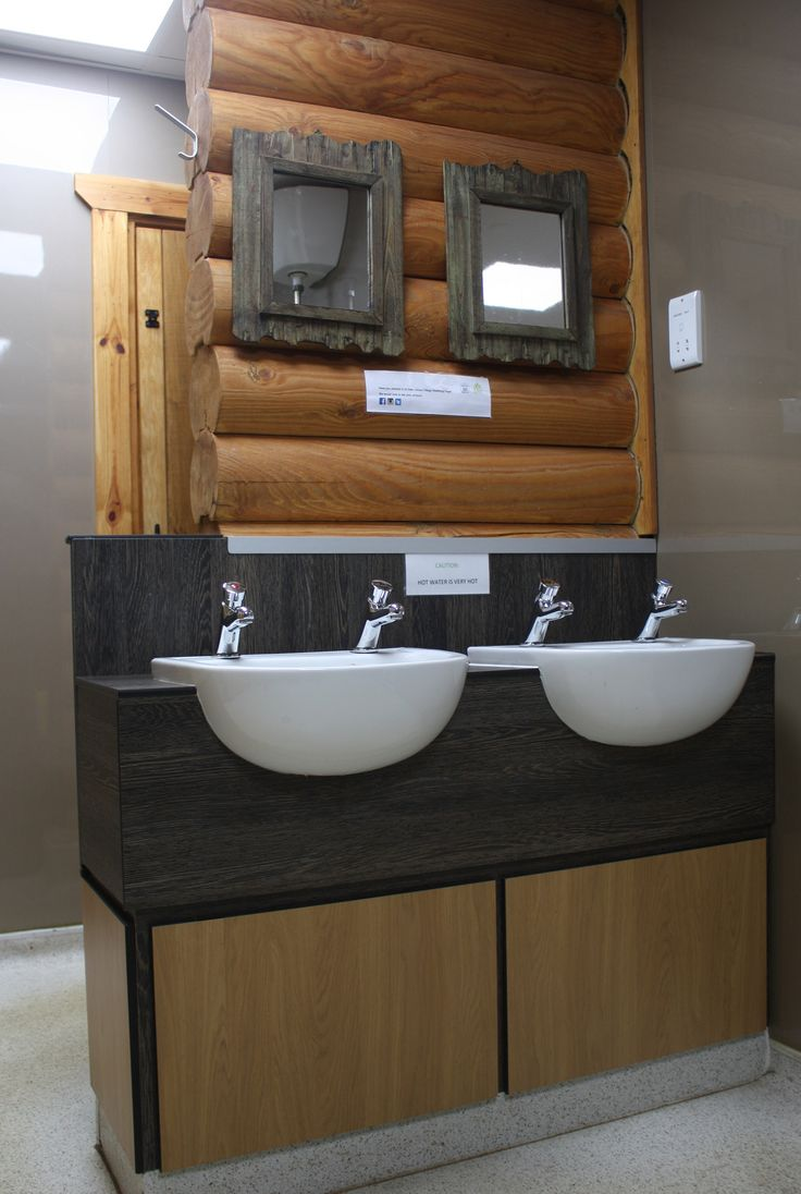 Eden Leisure Village, Cumbernauld. Fitted with a bespoke edition of our Vanity Unit fixtures and Selkie Waterproof Wall Panel System
