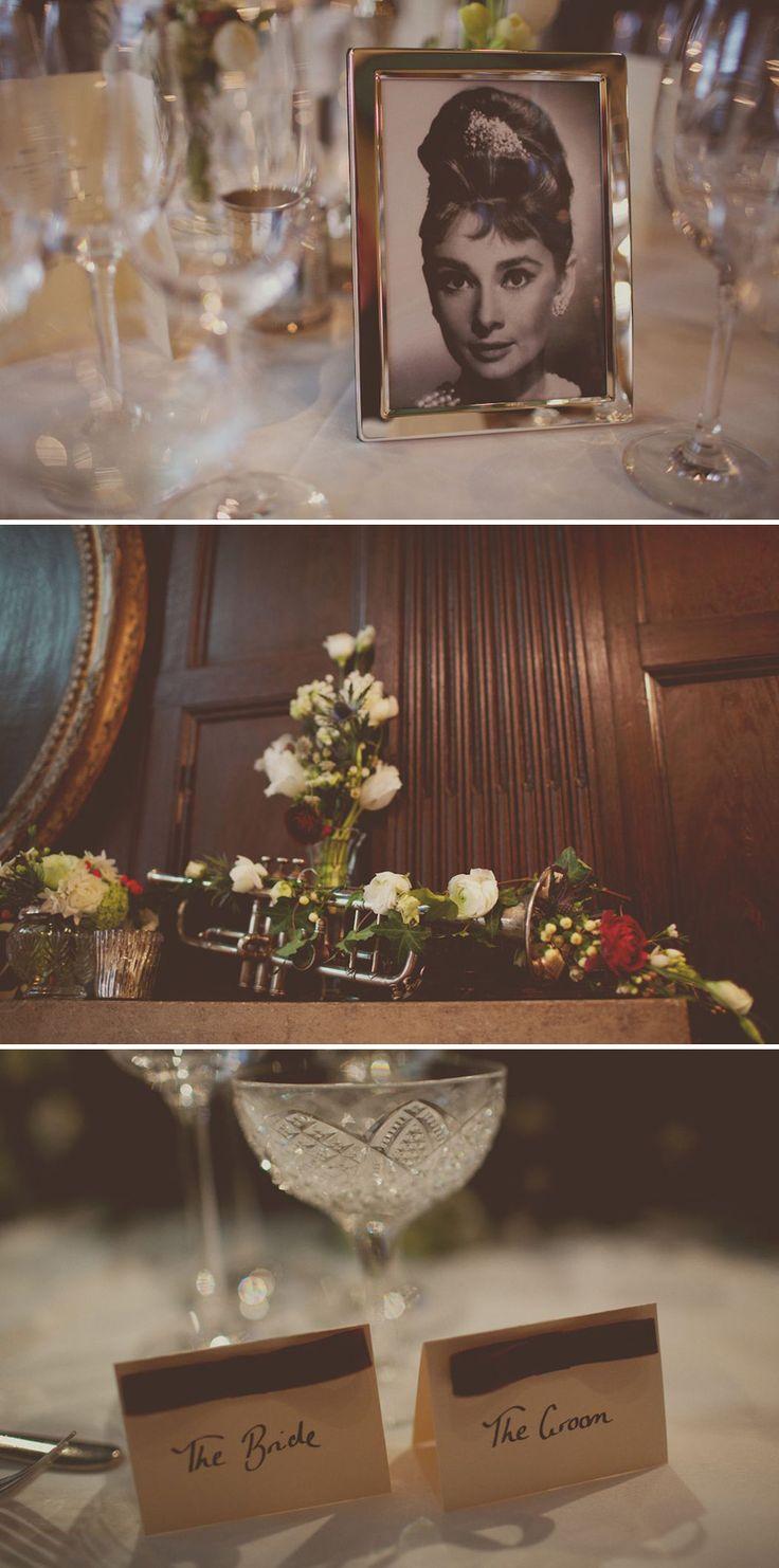 Table centre ideas, oozes 1920s style. From 'Botcha A Me' wedding on Rock My Wedding. #weddingideas