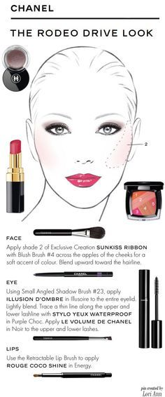 Chanel - The Rodeo Drive Look Tutorial