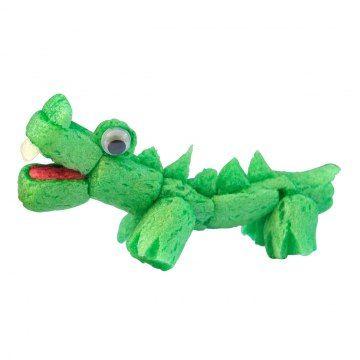 Crocodile en Playmais
