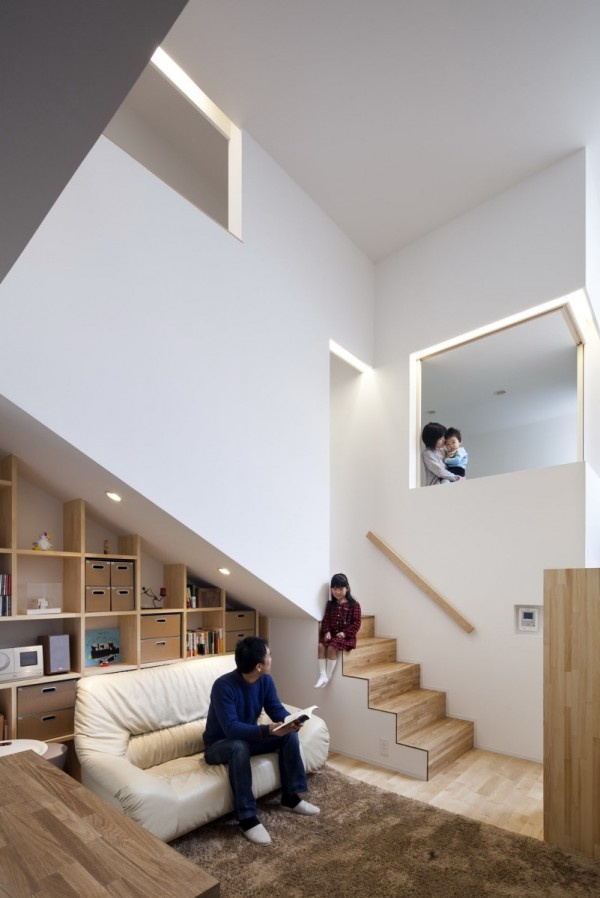 House in Kyobate (Japan).: Interior, Idea, Dream House, Architecture, Space, Design