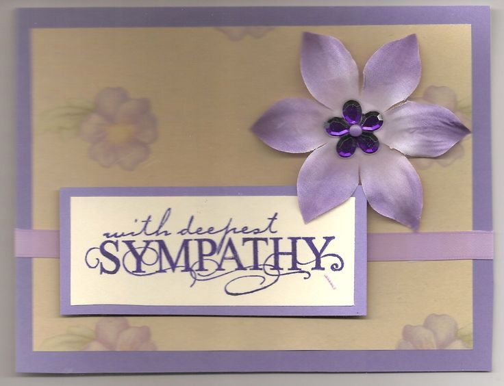 112 best Sympathy images on Pinterest Cards, Handmade cards and - condolence template