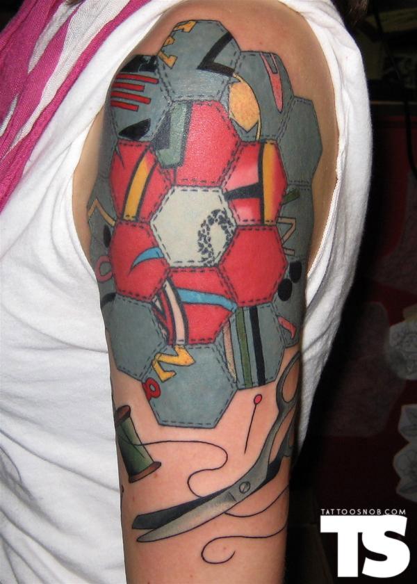 patchwork tattoo!