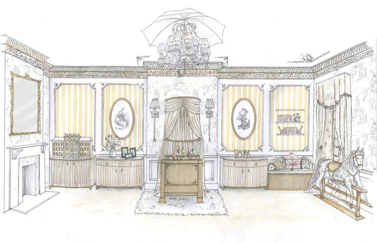 Inside a royal nursery: what William and Kate's nursery is likely to look like - by Oliver Burns
