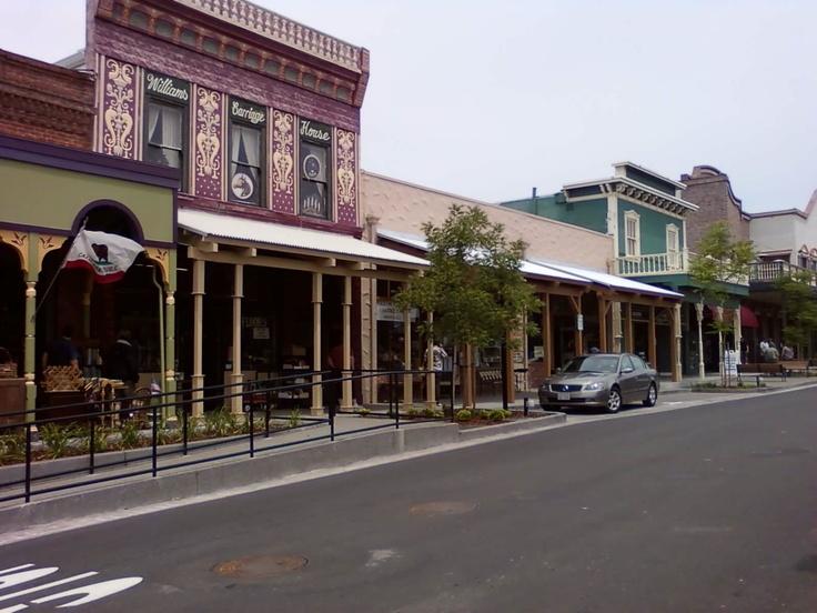 Folsom, California. Great Antique shops.