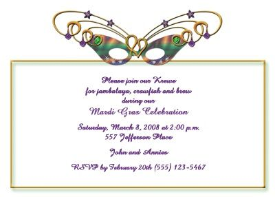 113 best mardi gras invitations images on pinterest invitation 113 best mardi gras invitations images on pinterest invitation wording mardi gras party and holiday party invitations stopboris Image collections