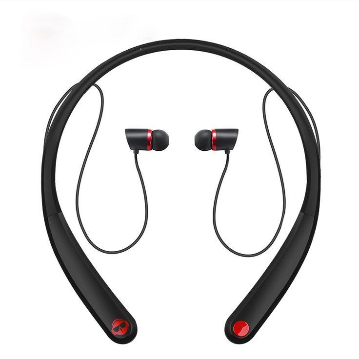 Magift HV990 Neckband Wireless Bluetooth Headset Sports Headphone Wireless Magnetic Headphone  for Iphone Samsung Xiaomi
