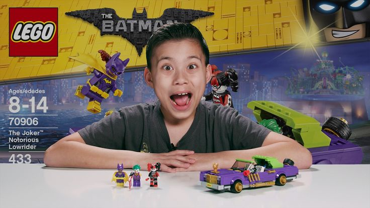 THE JOKER NOTORIOUS LOWRIDER - The LEGO Batman Movie Set 70906 Time-laps...