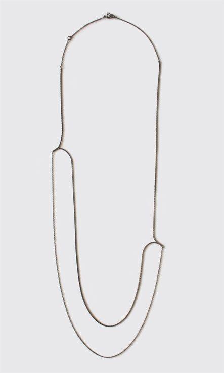 NAOKO OGAWA-JP| drawing necklace