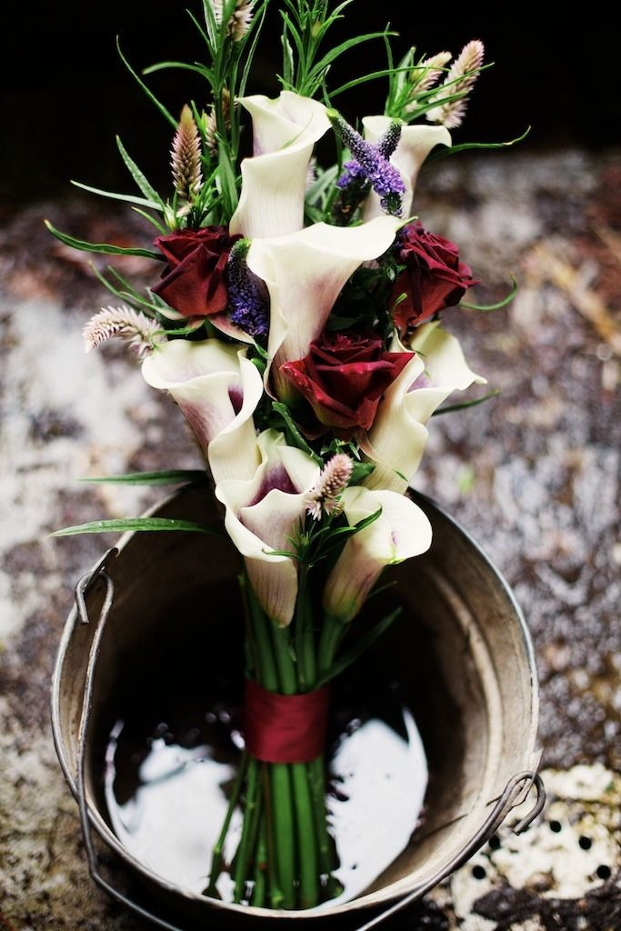 This IS perfect for Scott and I! Love these flowers and colors are awesome.