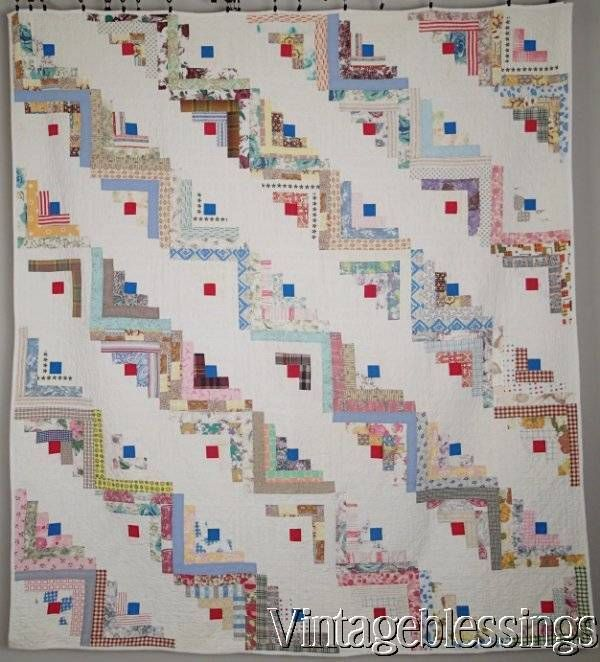 125 Best Images About Quilts Log Cabin 2 On Pinterest