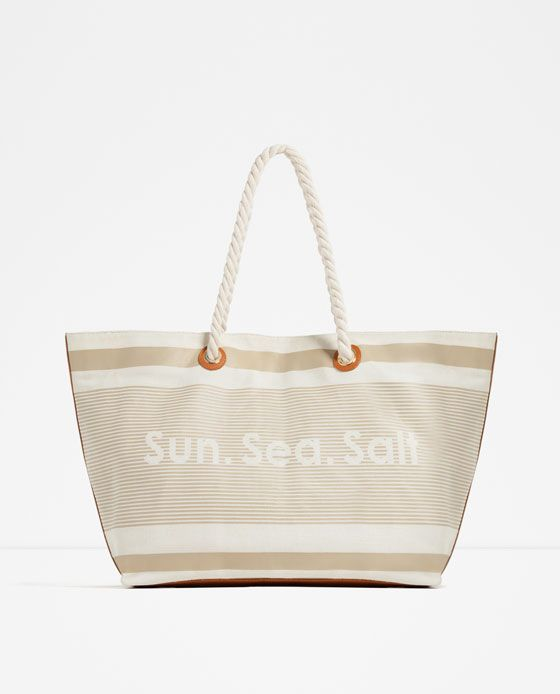 FABRIC BEACH TOTE