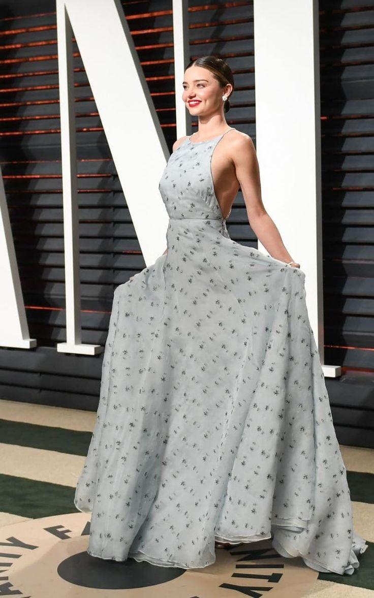 Miranda Kerr In Miu Miu – 2017 Vanity Fair Oscar Party