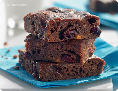 "Jasmine Cuisine: ""Zéro diète"" par Karine Larose, et brownies à la patate douce"