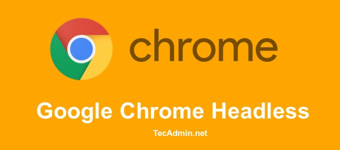 Google Chrome latest version released with a new useful feature Headless Chrome. The headless Chrome is useful for browser automation. You can capture screenshots of any web page using the command line as well as programming language without starting Chrome GUI. It also supports to print the web page DOM and create a pdf of […]