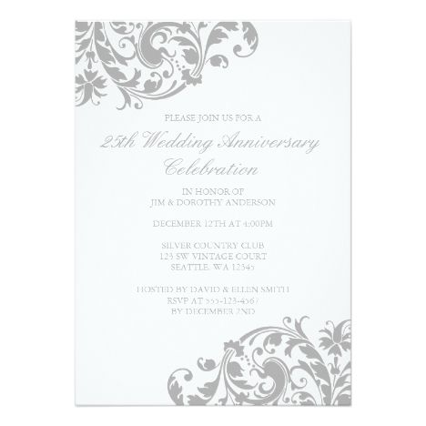 The  Best Th Wedding Anniversary Invitations Ideas On