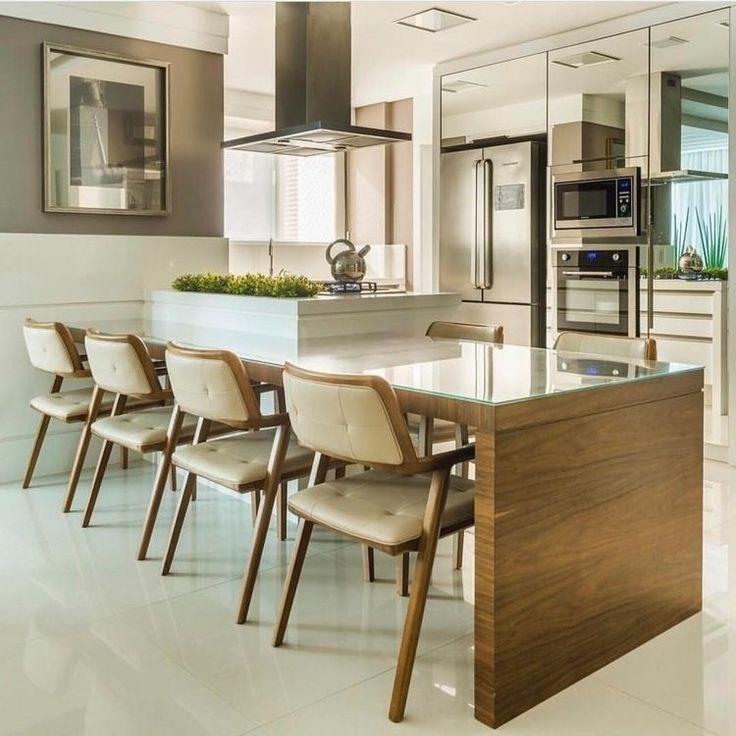 Para se inspirar!   #projeto #ambientes #estilo #design #ambiente #reforma #reformando #decoração #decor #moderno #móvel #look #lookdodia #instadecor #amei #amando #decorando #decorado #decorandocomclasse #decorandooambiente   #cozinha #cozihadecorada #cozinhaplanejada #cozinhamoderna #cozinhaamericana #bomdia