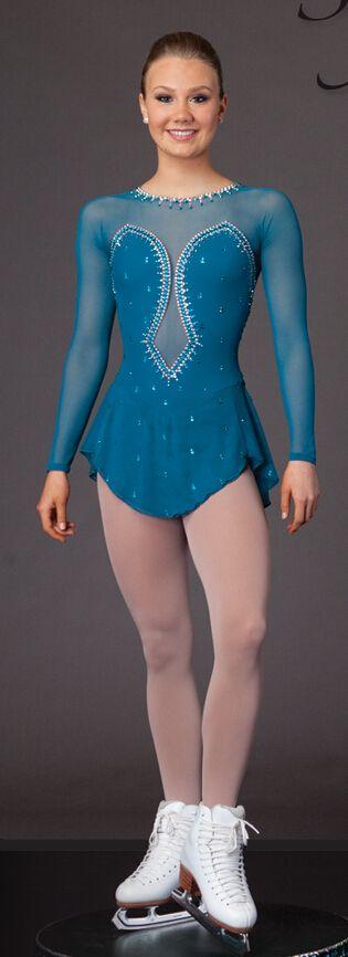 Patinaje artístico ropa de mujer encargo del patinaje de hielo ropa para las niñas spandex caliente la venta de la competencia de patinaje viste el envío gratis(China (Mainland))