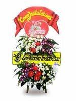 Toko Bunga Bandung Standing Flowers Selamat STDS012