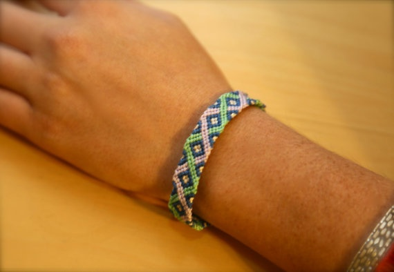 Totally Twisted Friendship Bracelet by StringBeaner on Etsy, $10.00
