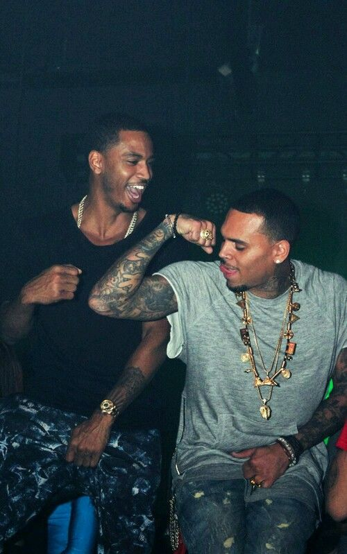 Trey Songz & Chris Brown.....#hiphop #beats updated daily => http://www.beatzbylekz.ca