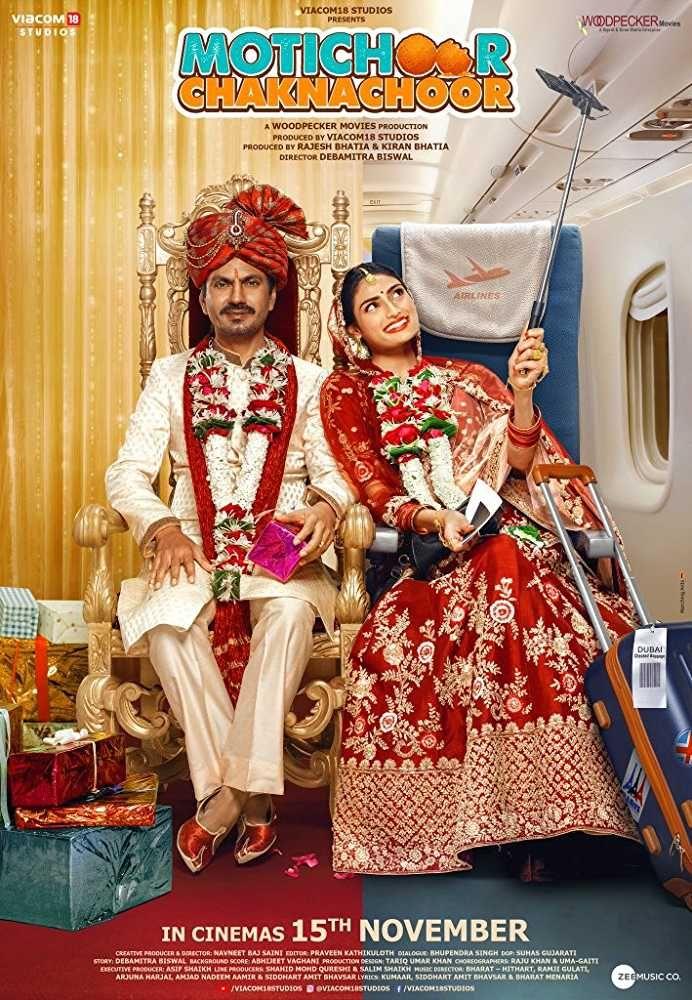 Motichoor Chaknachoor 2019 Hindi Movie 720p Hdrip 1gb In 2020 Hindi Movies Download Movies Full Movies