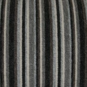 anthracite striped carpet for stairs and hallway