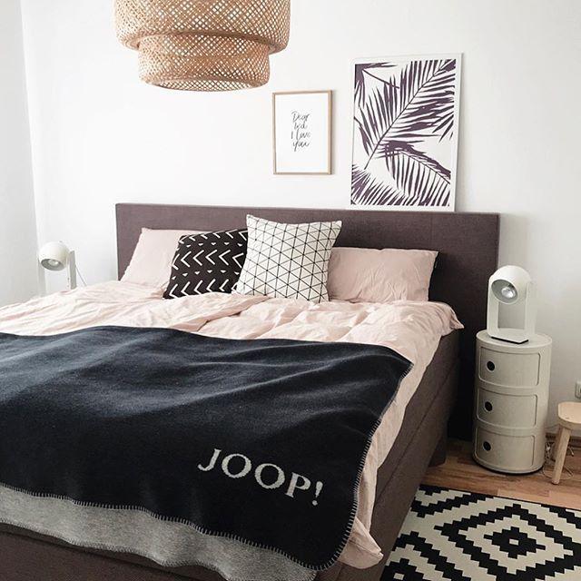 Schlafzimmer Deko Werbung Kissen Decke Joop Homestyling