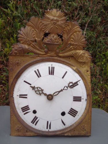 1000 images about antique clocks morbier comtoise on pinterest auction antiques and clock. Black Bedroom Furniture Sets. Home Design Ideas