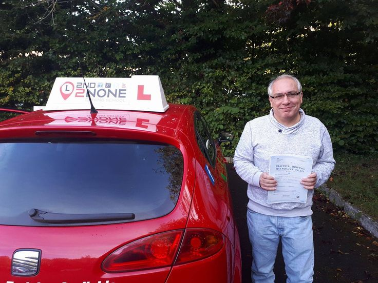 Congratulations to Ronald Brooks from Yeovil on passing his driving test today 28/09/17 in Yeovil DTC.  Well done Ronald and safe driving in the future from your driving instructor Steve and all the team here at 2nd2None Driving School   https://www.2nd2nonedrivingschool.co.uk/driving-lessons-south-somerset.html  https://www.2nd2nonedrivingschool.co.uk/driving-lessons-yeovil.html