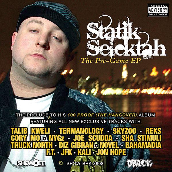 Static Selektah(producer)-The pre-game EP