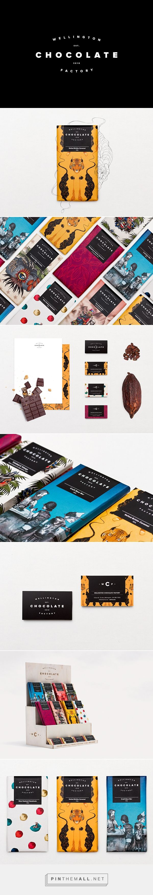 Wellington Chocolate Factory on Behance https://www.behance.net/gallery/13945621/Wellington-Chocolate-Factory - created via http://pinthemall.net