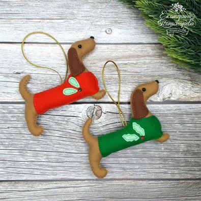 Мастерицы, закатайте рукава – у нас появилась работенка. Сделаем праздничную мягкую игрушку в честь нового года – года Собаки.