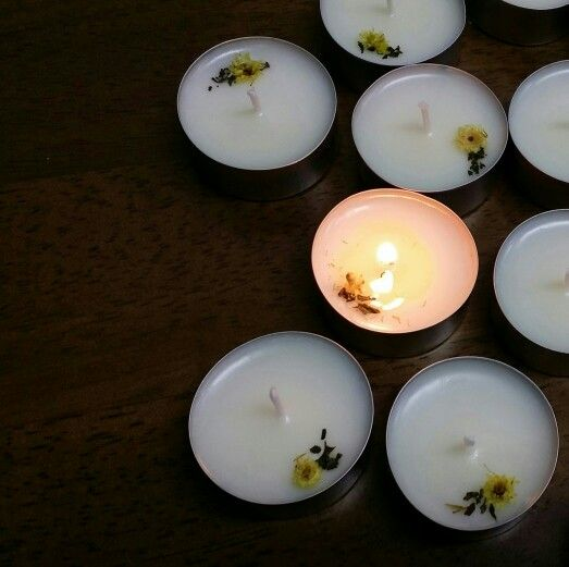 flower soycandle