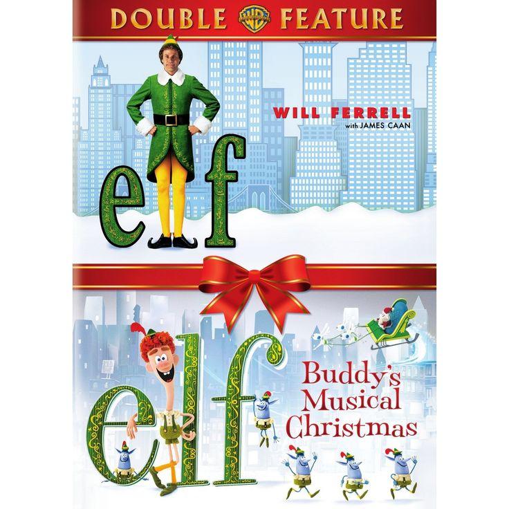 Elf & elf:Buddy's musical christmas (Dvd)