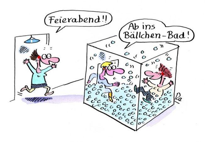 Kindergarten_KiGaPortal_Cartoon_Renate Alf_Feierabend