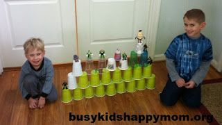 Busy Kids in Action: Nerf Gun Shooting Range - Busy Kids Happy Mom