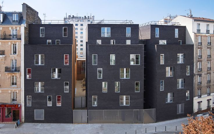 Student Residence, Paris - LAN (Local Architecture Network)