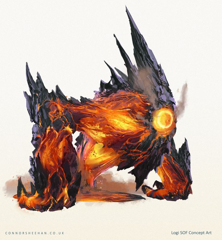 ArtStation - Logi, Spirit of Fire, Connor Sheehan
