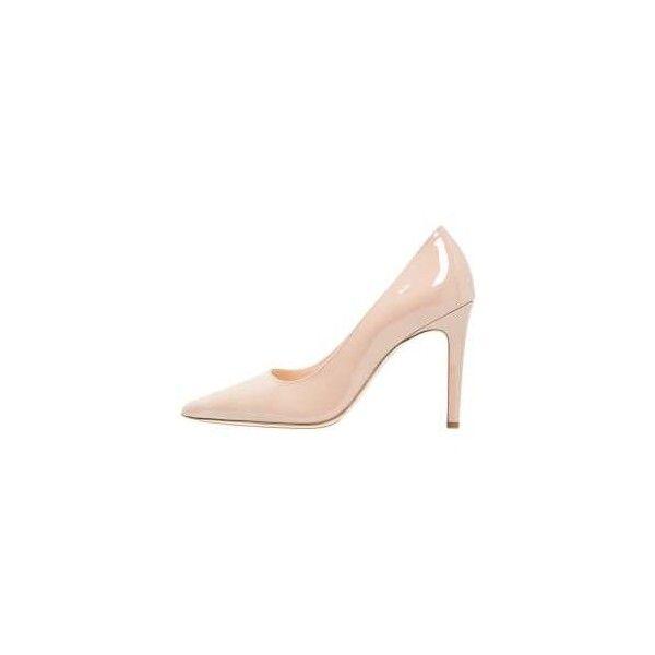 Högl Klassiska pumps nude ❤ liked on Polyvore featuring shoes, pumps, nude shoes, nude court shoes, hogl shoes, nude pumps and nude footwear