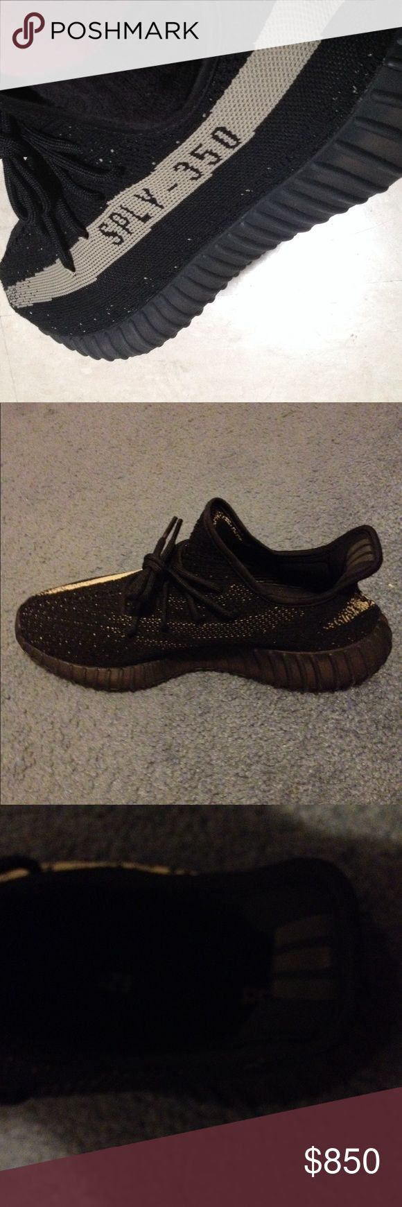 Yeezys Oreo v2 They are in amazing condition and only worn once. It comes with the box and 100% authentic they are not fake. Yeezy Shoes Athletic Shoes