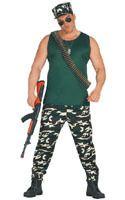 Disfraz de Militar Mercenario adulto