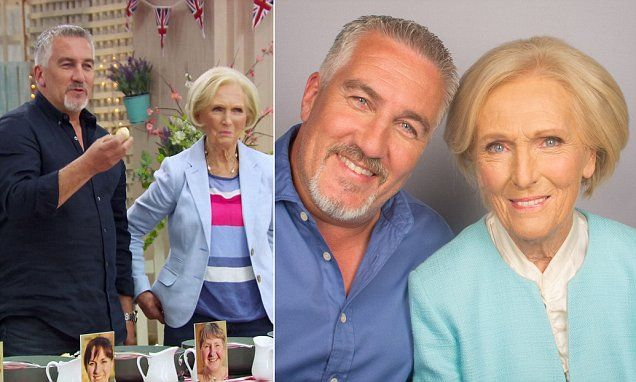 Paul Hollywood and Mary Berry to reunite on US Bake Off | Daily Mail Online
