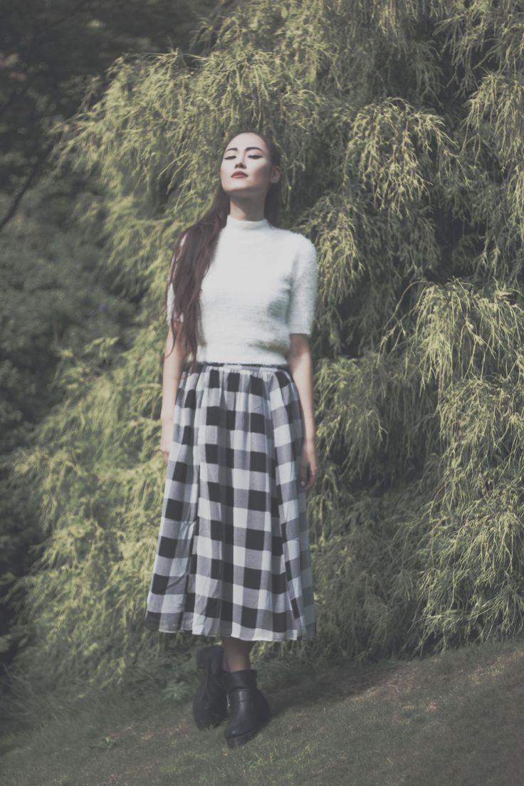 Darker Tropics  Photographer - Rosie Woods  Model - Tessa Burton  MUA - Me   Shot in Fletcher Moss Gardens, Didsbury