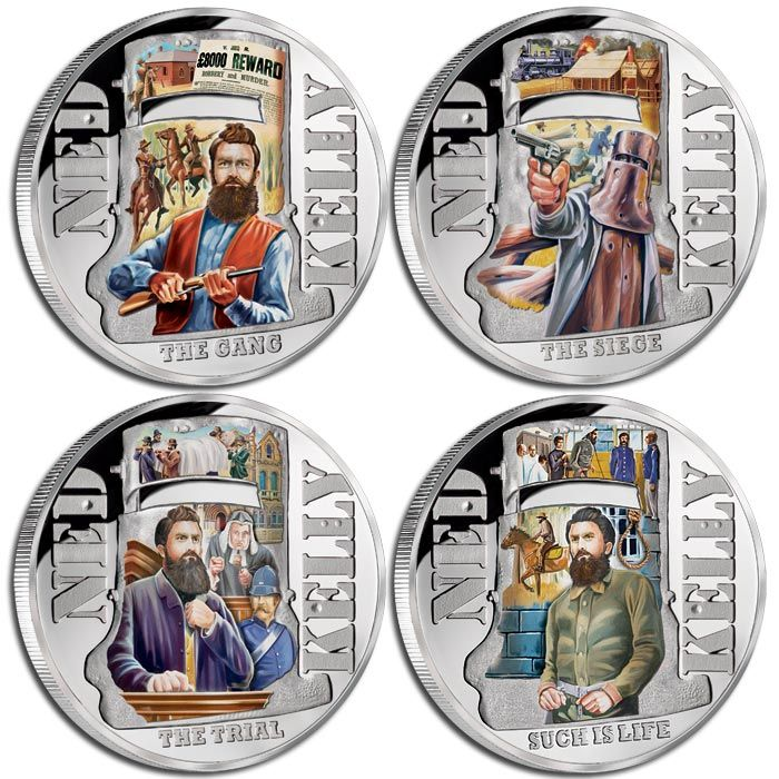 Ned Kelly story told in coins at Downies Australia