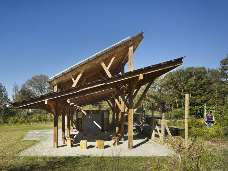 Princeton Day School Shed Material Design + Build