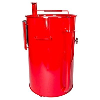 how to make a 55 gallon drum smoker