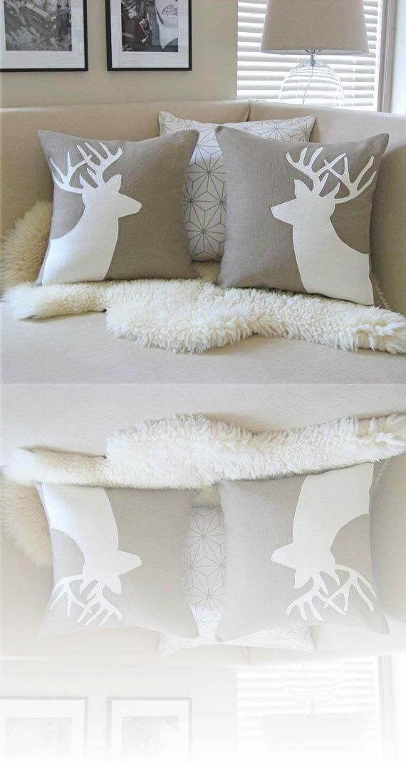 Decorative Throw Pillow Case Cushion Set Of 4 Coffee Color