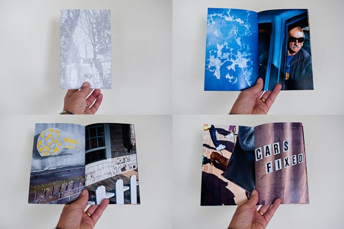 Broken Spine; 'exploring artists books and books about art'; a tumblr that shares the interiors of photobooks and art books